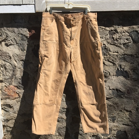 9282a799135 Carhartt Other - Men's faded vintage Carhartt work pants 38W/29.5L